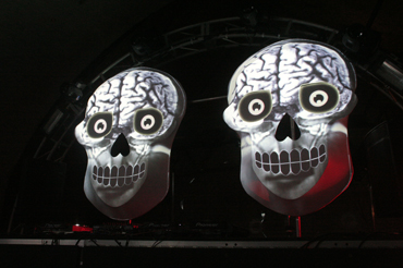 skull mapping by meno studio