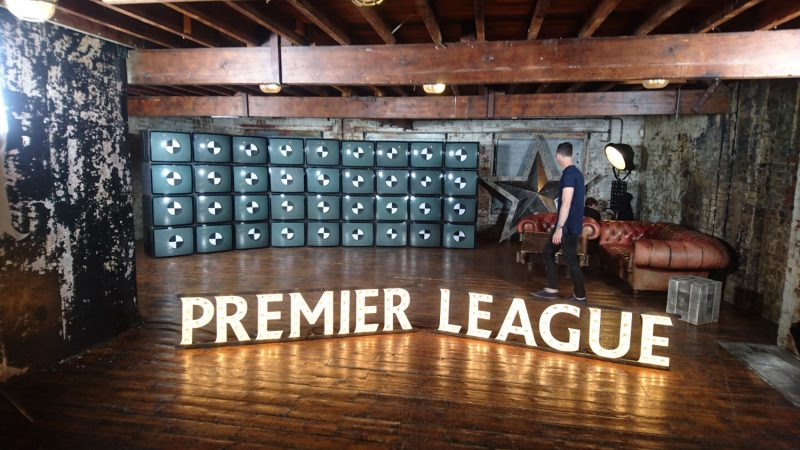 Premier league letters by Meno Studio