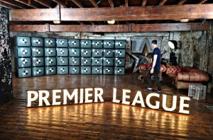 Premier league letters by Meno