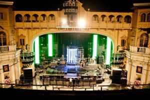 Location shot of The Cage at Brixton Academy.